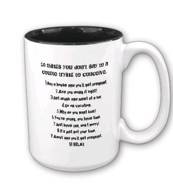 infertility mug