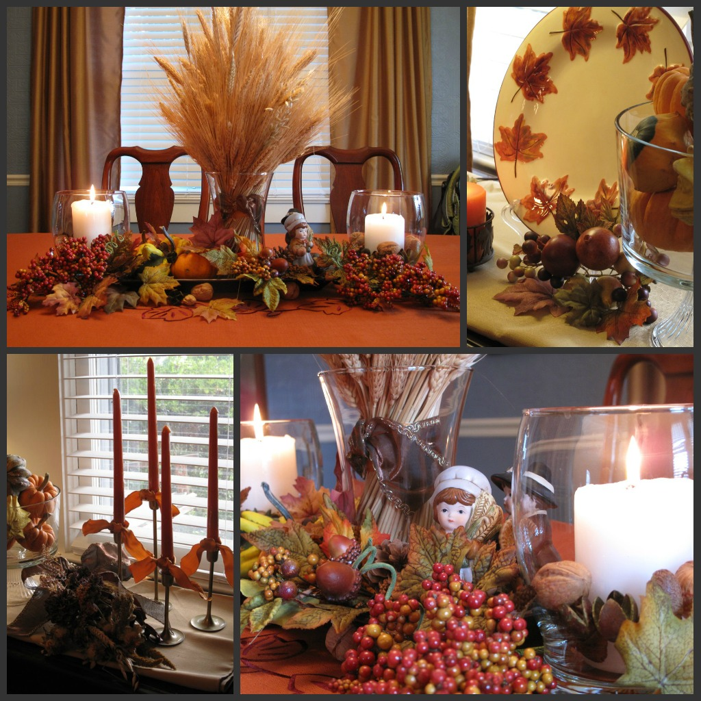 Fall Decorating Ideas For The Dining Room: Fall Decorations… Finally